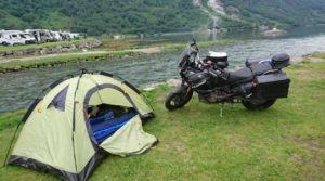 Camping im Geirangerfjord