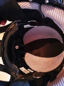 Der offene Helm